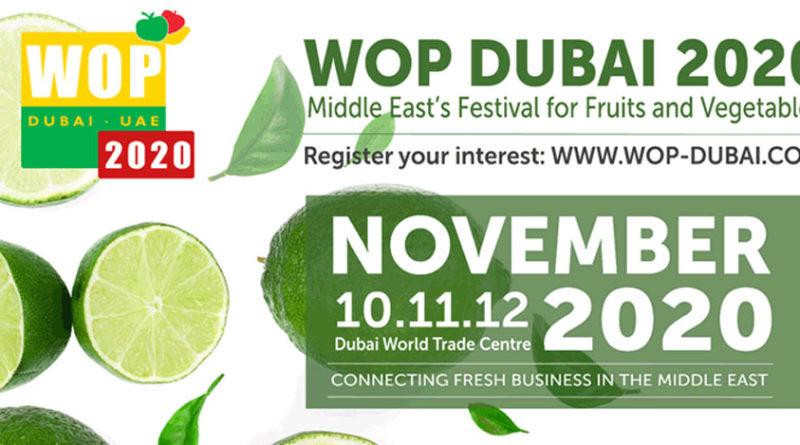 WOP Dubai 2020